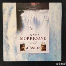 Discos de vinilo: ENNIO MORRICONE - THE MISSION. Lote 293887593