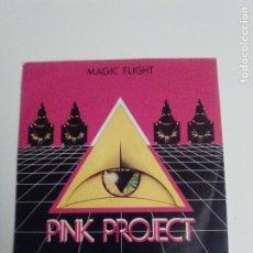 Discos de vinilo: PINK PROJECT MAGIC FLIGHT / AMAMA ( 1983 BABY RECORDS CBS ESPAÑA ) TECNO POP ITALO DISCO. Lote 293887898