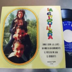 Discos de vinilo: LA CHIQUILLADA-EP DONDE ESTAN LAS LLAVES +3. Lote 293889158