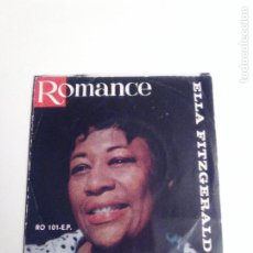 Discos de vinilo: ELLA FITZGERALD HOW HIGH THE MOON THE LADY IS A TRAMP MAN I LOVE ( 195? ROMANCE HOLLAND ). Lote 293889813