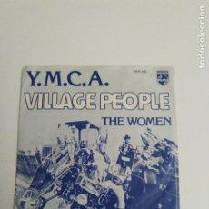 Discos de vinilo: VILLAGE PEOPLE Y.M.C.A. / THE WOMEN ( 1978 PHILIPS HOLLAND ) EXCELENTE ESTADO. Lote 293890413