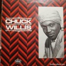 "Discos de vinilo: ROCK & ROLL, R&B LP, CHUCK WILLIS ""BE GOOD OR BE GONE"" EDSEL RECORDS. Lote 293891038"