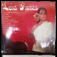 Discos de vinilo: D. LPS. LOLA FLORES Nº1.. Lote 293923248