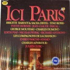 Discos de vinilo: VARIOUS...ICI PARIS.(MUSIC FOR PLEASURE 1984) NETHERLANDS. Lote 33136436