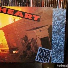Discos de vinilo: HEART - ROCK THE HOUSE LIVE!. Lote 293926063