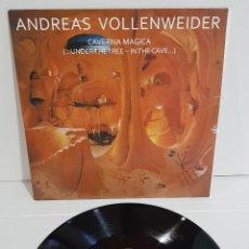 Discos de vinilo: ANDREAS VOLLENWEIDER .DAVERNA MAGICA. Lote 293926998