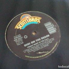 Discos de vinilo: MX. GIGI ON THE BEACH - FRIDAY NIGHT IN THE U.S.A.. Lote 293929793