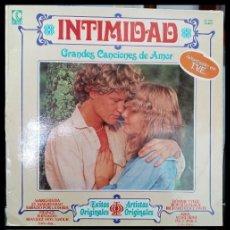 Discos de vinilo: D . LPS. INTIMIDAD. GRANDES CANCIONES DE AMOR. 1979.. Lote 293932063
