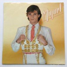Discos de vinilo: MIGUEL BOSÉ – MIGUEL , SPAIN 1980 CBS. Lote 293933253