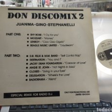 Discos de vinilo: DON DISCOMIX 2 MAXI PROMOCIONAL 1987. Lote 293934418