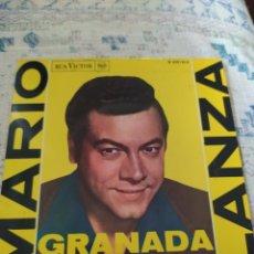 Discos de vinilo: MARIO LANZA- GRANADA- EP 1962-. Lote 293938418