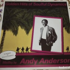 """Discos de vinilo: ANDY ANDERSON* - GOLDEN HITS OF SOULFUL DYNAMICS (12"""", MAXI, MIXED).NUEVO. MINT / NEAR MINT. Lote 293940628"""