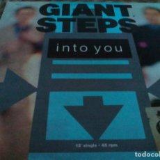 Discos de vinilo: MX. GIANT STEPS - INTO YOU. Lote 293942098