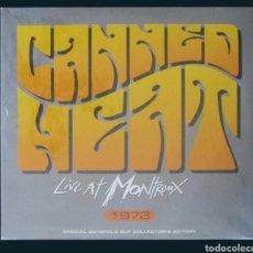Discos de vinilo: LP CANNED HEAT: LIFE AT MONTREUX. Lote 293942233