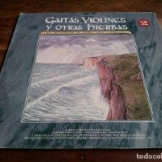 Discos de vinilo: VARIOS - GAITAS,VIOLINES Y OTRAS HIERBAS VOL 2 - DOBLE LP RECOPILATORIO DRO 1993 BUEN ESTADO. Lote 293952473