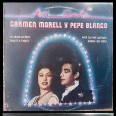 Discos de vinilo: D. LPS. CARMEN MORELL Y PEPE BLANCO. 1981.. Lote 293952983