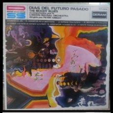 Discos de vinilo: D. LPS. THE MOODY BLUES. DIAS DEL FUTURO PASADO.. Lote 293955903