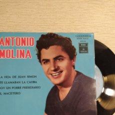 Discos de vinilo: ANTONIO MOLINA- LA HIJA DE JUAN SIMÓN- ODEÓN EMI- 1964-. Lote 293955908
