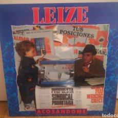 Discos de vinilo: LEIZE - ACOSANDOME. Lote 293964683