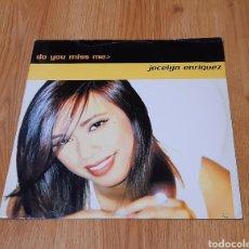 Discos de vinilo: MAXI JOCELYN ENRIQUEZ DO YOU MISS ME MAX MUSIC 1997. Lote 293965378
