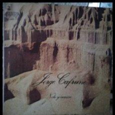Discos de vinilo: D. LPS. JORGE CAFRUNE. NOCHE Y CAMINO 1973.. Lote 293968848