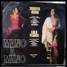 Discos de vinilo: D. LPS. JUANITA REINA Y LOLA FLORES 1973.. Lote 293969298