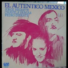 Discos de vinilo: D. LPS. ASI CANTABA JORGE NEGRETE. OCHO GRANDES EXITOS. 1971.. Lote 293969593