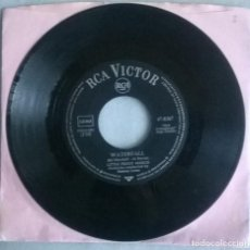 Discos de vinilo: LITTLE PEGGY MARCH. WATERFALL/ THE IMPOSSIBLE HAPPENED. RCA, GERMANY 1963 SINGLE. Lote 293969908