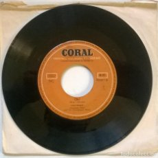 Discos de vinilo: LARRY HOPPER. OH!/ OH HAPPY DAY. CORAL, GERMANY 1954 SINGLE. Lote 293970373