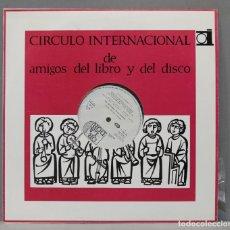 Discos de vinilo: LP. CIRCULO INTERNACIONAL DE AMIGOS DEL LIRBO Y DEL DISCO. MOZART REQUIEM KV 626. Lote 293970598