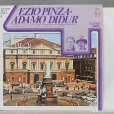 Discos de vinilo: LP. EZIO PINZA. ADAMO DIDUR. Lote 293970953