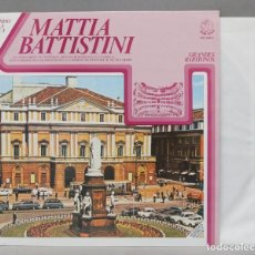 Discos de vinilo: LP. MATTIA BATTISTINI. ARCHIVO DE LA LIRICA 8. Lote 293971033