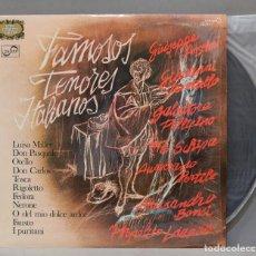 Discos de vinilo: LP. FAMOSOS TENORES ITALIANOS. Lote 293971078