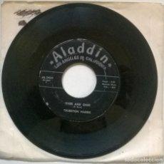 Discos de vinilo: THURSTON HARRIS. OVER AND OVER/ YOU'RE GONNA NEED ME. ALADDIN, USA 1958 SINGLE. Lote 293971093