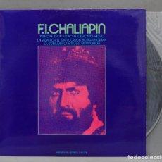 Discos de vinilo: LP. F.I. CHALIAPIN. Lote 293971123