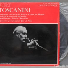 Discos de vinilo: LP. TOSCANINI. RESPIGHI. BERLIOZ. SAINT-SAENS. Lote 293971163