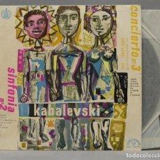 Discos de vinilo: LP. KABALEVSKY. SINFONÍA Nº 2 Y CONCIERTO Nº 3. Lote 293971443