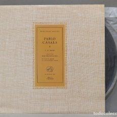 Discos de vinilo: LP. CASALS. SUITES PARA VIOLONCELLO N 3 N 4. Lote 293971668