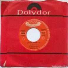 Discos de vinilo: MARCEL AMONT. UN MEXICAIN/ DANS MON PAYS/ PIGALLE/ FLAMENCO ROCK. POLYDOR, FRANCE 1962 EP. Lote 293972103