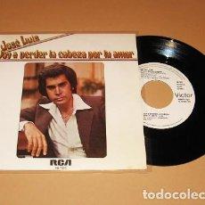 Discos de vinilo: JOSE LUIS RODRIGUEZ (EL PUMA) - VOY A PERDER LA CABEZA POR TU AMOR - PROMO SINGLE - 1978. Lote 293979218
