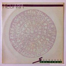 Discos de vinilo: LP ACUARIA - SOLDADOS DEL FINAL - DISCOS JCR 1992. Lote 293994023