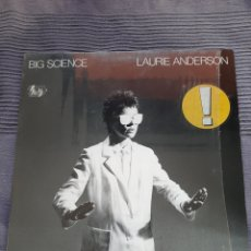 Discos de vinilo: LP LAURIE ANDERSON, BIG SCIENCE, VINILO 1982. Lote 293994228
