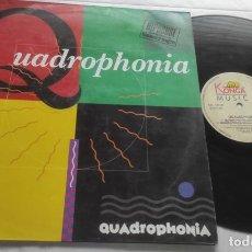 Discos de vinilo: QUADROPHONIA – QUADROPHONIA (REMIX)-LP-ESPAÑA-1991-. Lote 294009828
