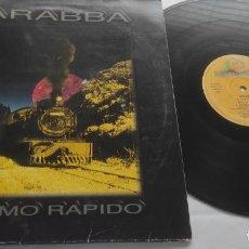 Discos de vinilo: BARABBA – EL RITMO RAPIDO- LP- ESPAÑA-1995-. Lote 294010983