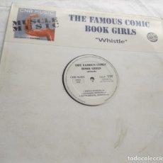 """Discos de vinilo: THE FAMOUS COMIC BOOK GIRLS – """"WHISTLE""""-LP-ESPAÑA-1995-. Lote 294014343"""