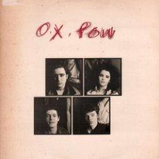 Discos de vinilo: O,X POW - POLITICOS, SE HAN CANSADO DE TI, SUBE Y BAJA.../ MAXISINGLE NUEVOS MEDIOS 1985 RF-10597. Lote 294024378