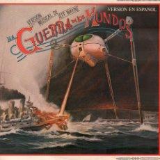 Discos de vinilo: LA GUERRA DE LOS MUNDOS - VERSION MUSICAL DE JEFF WAYNE / DOBLE LP EN ESPAÑOL 1978 RF-10598. Lote 294024658