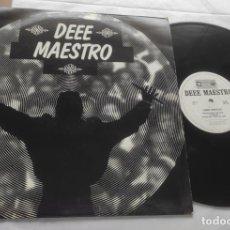 Discos de vinilo: DEEE MAESTRO – DEEE SPANE-MAXI-FRANCE-1992-. Lote 294025053