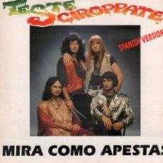 Discos de vinilo: TESTE SCIROPPATE - MIRA COMO APESTAS / MAXISINGLE MAX MUSIC 1994 / BUEN ESTADO RF-10605. Lote 294025818