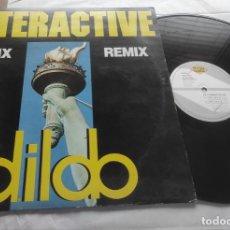 Discos de vinilo: INTERACTIVE – DILDO (REMIX) MAXI-ESPAÑA-1992-. Lote 294026183